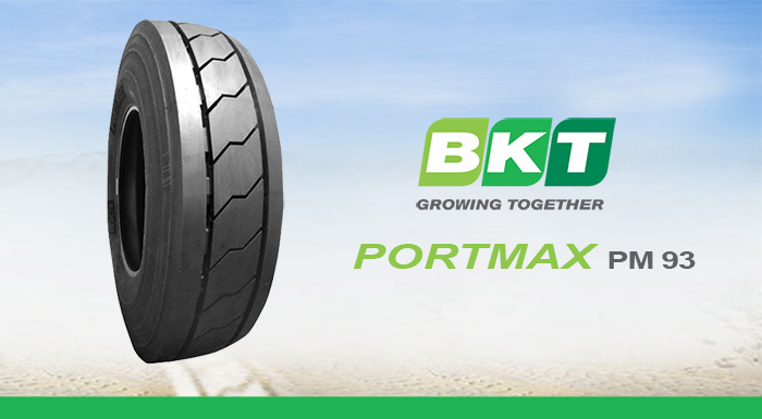 BKT to Showcase Portmax  PM 93 at BAUMA 2016