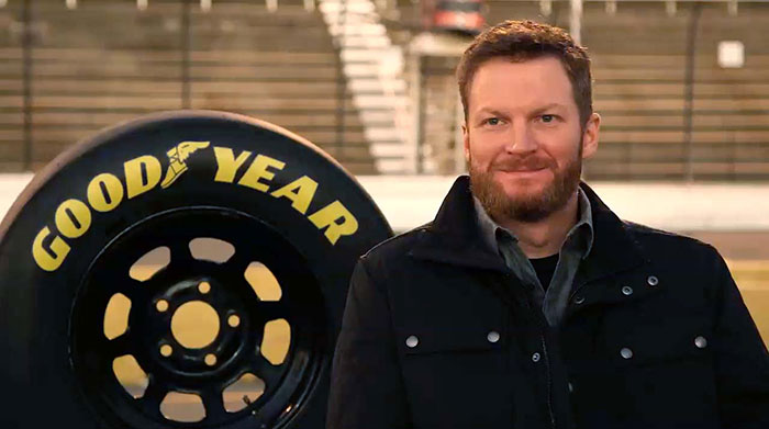 Dale Earnhardt Jr Expands Goodyear Partnership as New Brand Ambassador