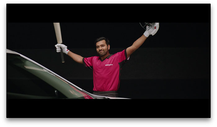 Nissan Takes on Cricket Trio as Brand Ambassadors