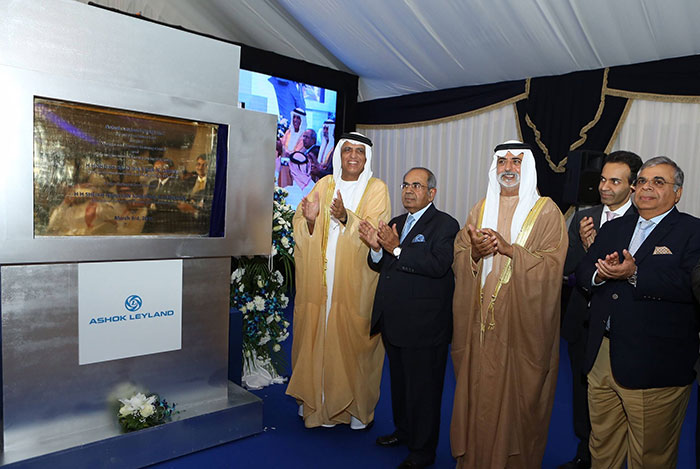 Hinduja Group Reinforces Commitment to UAE with Significant Expansion of Ashok Leyland Plant