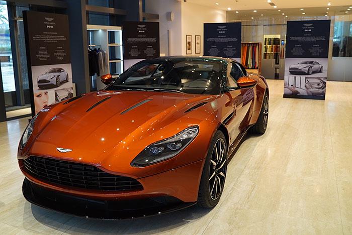 Aston Martin DB11 Arrives in Dubai