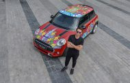 MINI Showcases Creativity with Specially Wrapped Model at Art Exhibition