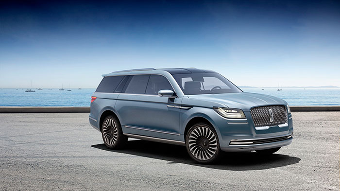 New Navigator Concept Brings Concept of Quiet Luxury to Large SUV segment