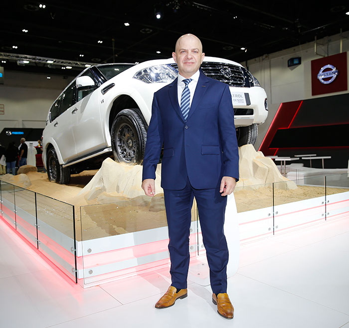 Interview with Samir Cherfan - Managing Director of Nissan Middle East