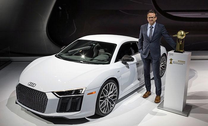 Audi R8 Scores Fourth Win in World Car Awards