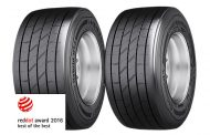 Conti Hybrid HT3 trailer tire Wins Renowned Red Dot Design Award