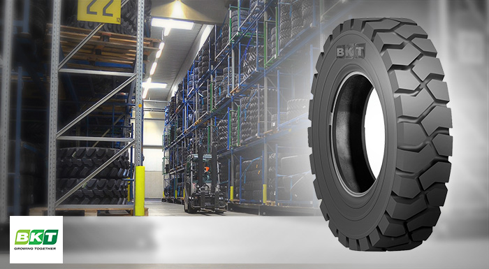 BKT to Showcase NEW LIFTMAX LM 81 for Forklifts at BAUMA 2016