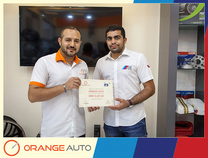 Orange Auto Hosts BMW Club UAE Meet
