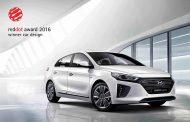 Hyundai Wins Red Dot Design Award for IONIQ Alternative-Fuel Car