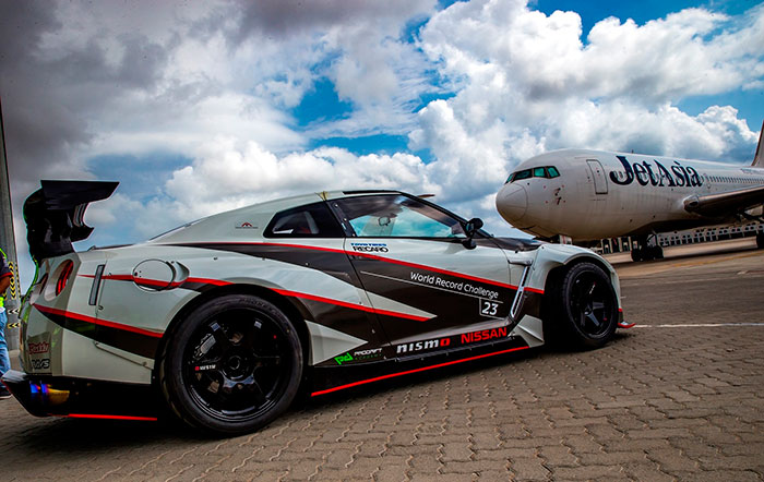 Nissan GT-R Sets World Record for Fastest Drift
