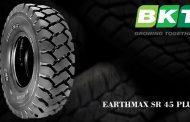 BKT Presents New Giant Earthmax SR 45 Plus at BAUMA 2016