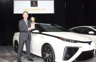 Toyota Mirai Bags 2016 World Green Car Award