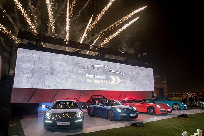 New Porsche 911 Makes Debut in Dubai