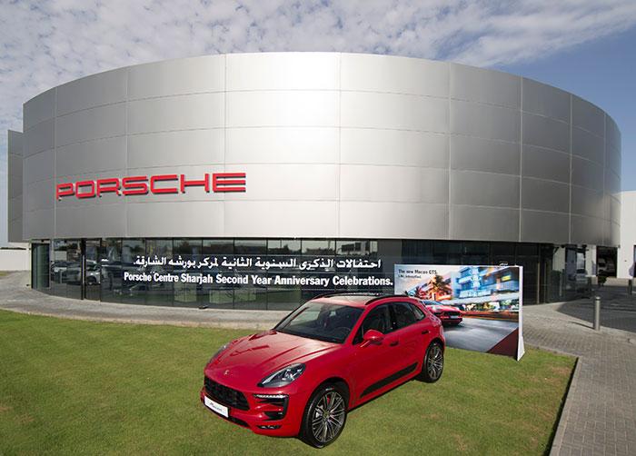 Porsche Centre Sharjah Showcases Macan GTS to Mark Second Anniversary