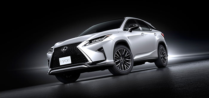 Lexus RX 350 named 'Best Small Premium SUV' at 2016 MECOTY Awards