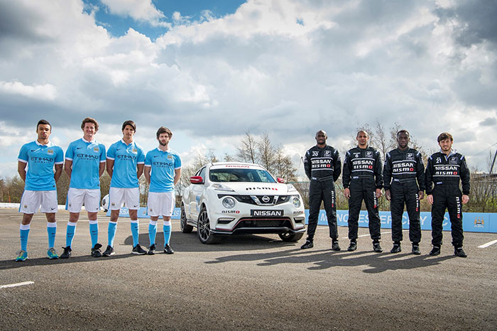 Top Soccer Stars Become Racing Drivers In Nissans Dream Job Swap