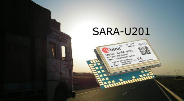 u-blox's  SARA-U201 Cellular Module Now in Distribution