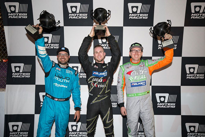 Team Falken Earns Two Podium Finishes at Motegi Drifting Event