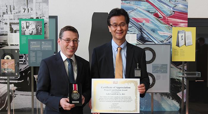 Schaeffler Bags Prestigious Japanese Award From AISIN AW