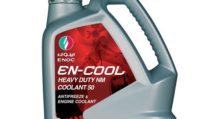 ENOC Unveils New 'EN-Cool' Coolant Range