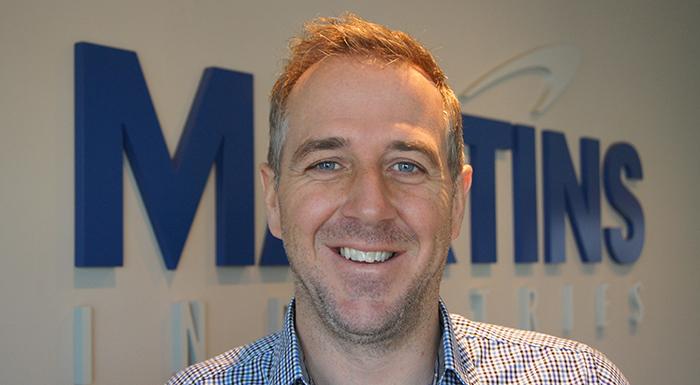 Martin Depelteau, VP Sales & Development