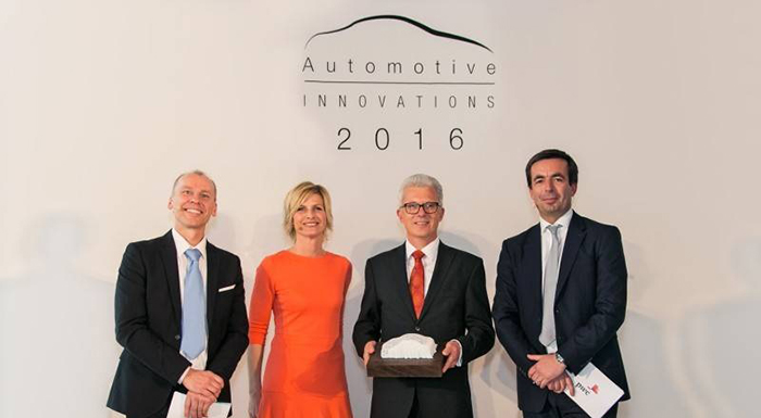 ZF Bags Automotive Innovations Award for Hybrid Transmission
