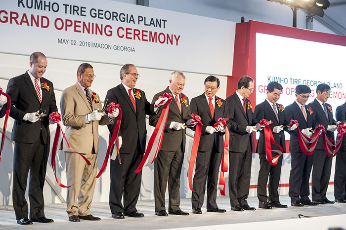 Kumho Opens First Tire Factory in the United States