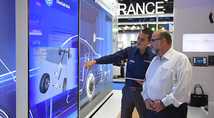 ACDelco Celebrates First Century Anniversary at Automechanika Dubai 2016