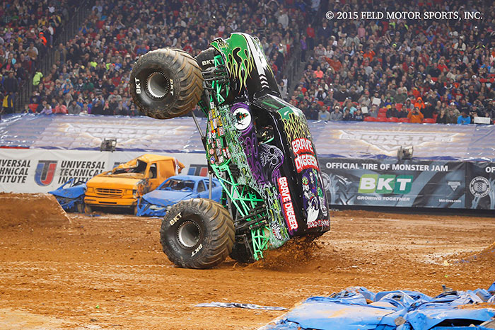BKT Official Tire Partner of Monster Jam for Third Straight Year