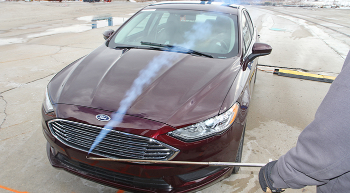 Ford Uses Aeroacoustic Testing to Bring Out Quieter Vehicles