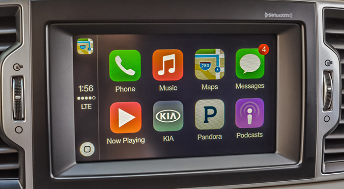 Kia Motors America Rolls Out Apple CarPlay® With UVO