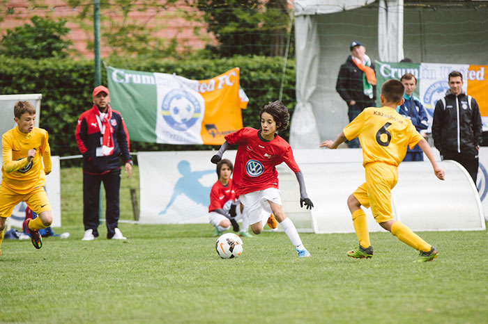 Volkswagen Makes Dreams Come True for Aspiring Footballers from Kuwait