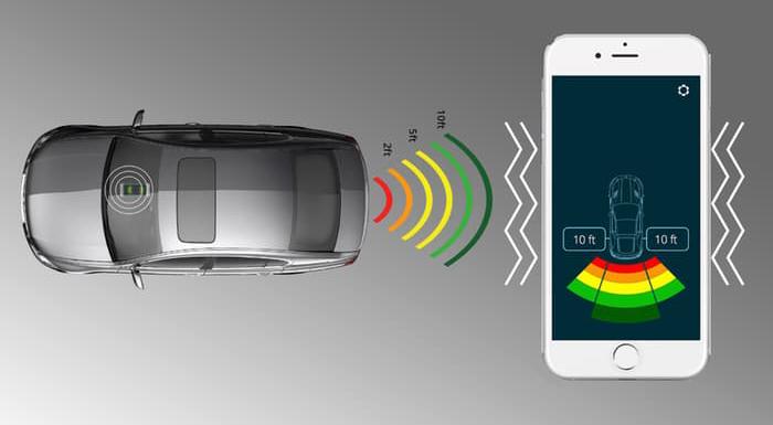 FenSens Smart Number Plate Frame Helps Prevent Parking Scrapes