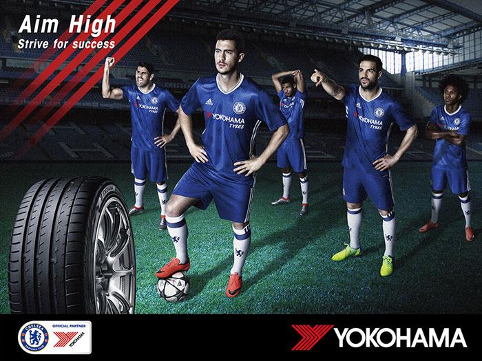 Yokohama Rubber Unveils New Look for Chelsea FC 2016-17 Season Football Kit