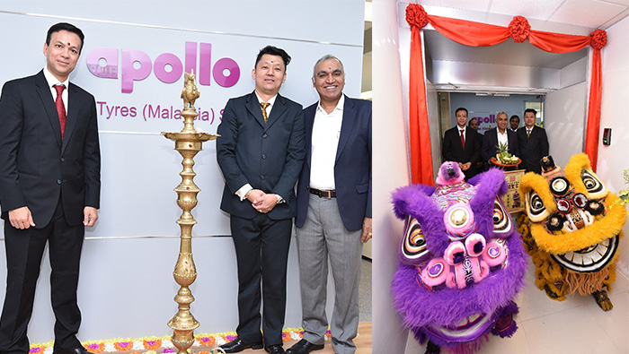 Apollo Tyres Ventures into Malaysia