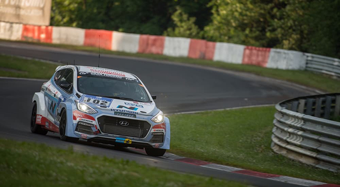 Hyundai Puts its New Turbo Engine to the Test at Nürburgring
