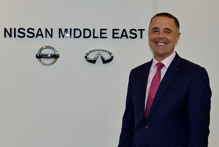 Nissan Names Simon Firth as new MD of Saudi Subsidiary