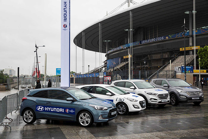 Hyundai Shares Football Passion with  UEFA EURO 2016 Fans