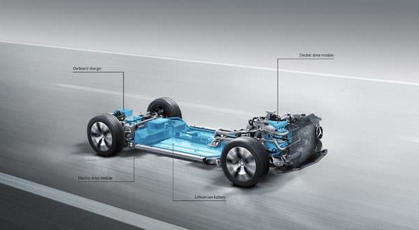 Mercedes Presents 500km EV Platform, Wireless Charging and a Hydrogen Hybrid