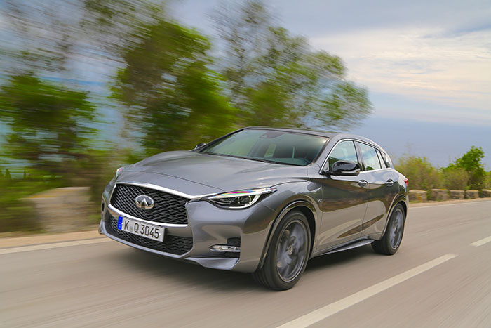 Infiniti Develops First Engine with Variable Compression Ratios
