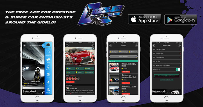 New Dazzled App Bridges Gap Between Carlovers and Automotive Businesses