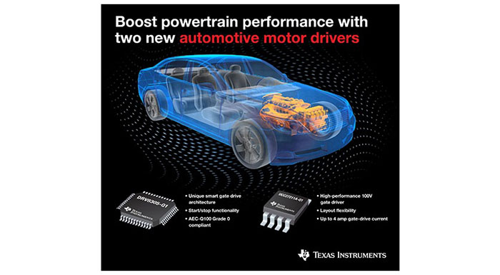TI Presents Two New Motor Drivers Supporting Powertrain Applications