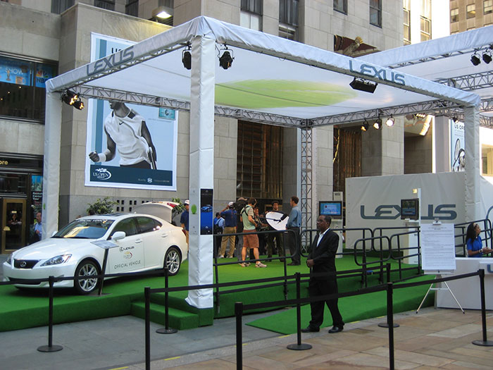 Lexus Official Vehicle of US Open Golf Championships
