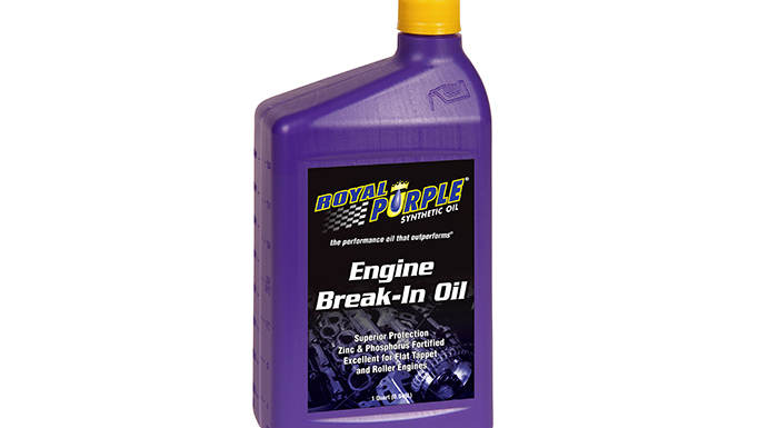 Royal Purple Unveils New Break-In Oil for New or Rebuilt