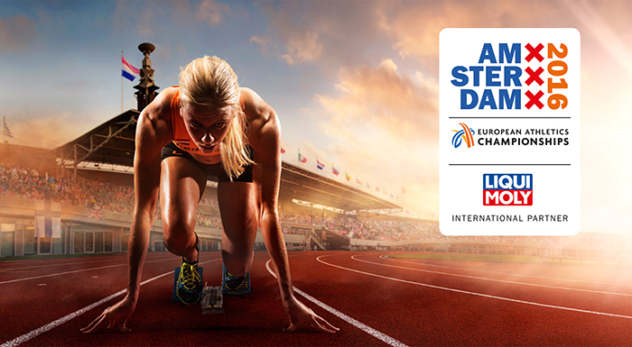 LIQUI MOLY Roots for European Athletics Championships in Amsterdam