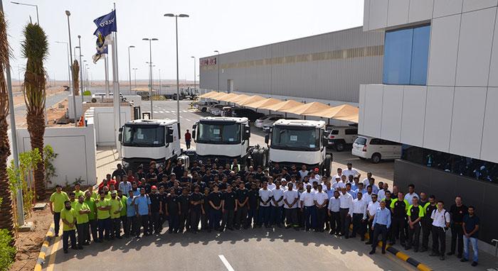 Renault Trucks Builds First Truck in Saudi Arabia