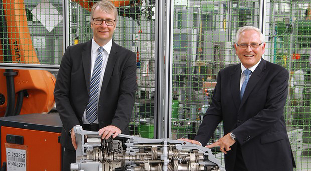 ZF Kicks Off Production of New Eight-Speed, Dual-Clutch Transmissions