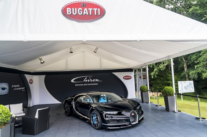 Bugatti Premieres Chiron at Goodwood Festival of Speed 2016