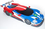 Ford Celebrates Racing with Lego Models at Le Mans Race