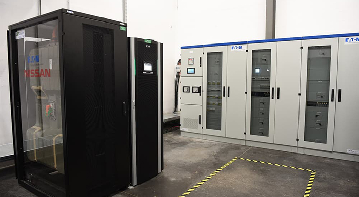 Nissan Launches Recycled EV Battery Storage in French Data Center